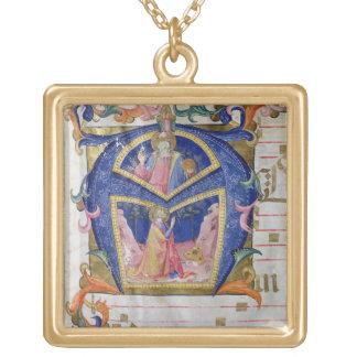 Corale / Graduale no.5  Historiated initial 'A' de Jewelry