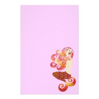 Coraleen Mermaid Stationery