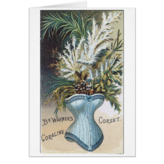 Coraline Corset Greeting Card