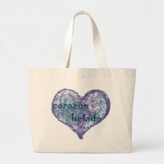 Corazon Helado Jumbo Tote Bag