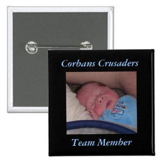 Corbans Crusaders Team Member Pin