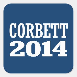 CORBETT 2014 SQUARE STICKERS