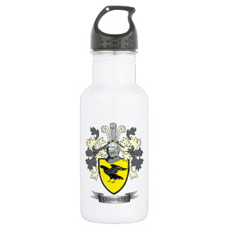 Corbett Family Crest Coat of Arms 532 Ml Water Bottle