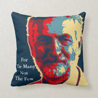 corbyn supporters double quotations pillow cushion