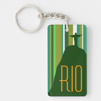 Corcovado Jesus Christ Rio Key Ring