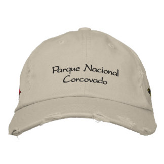 Corcovado National Park Embroidered Hat