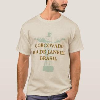 corcovado riodejaneiro brasil T-Shirt