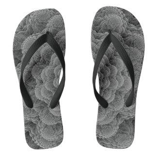 Cord sample grey thongs