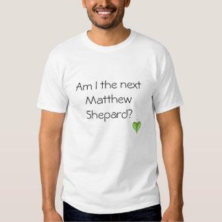 CORDATE, Am I the next Matthew Shepard? Shirts
