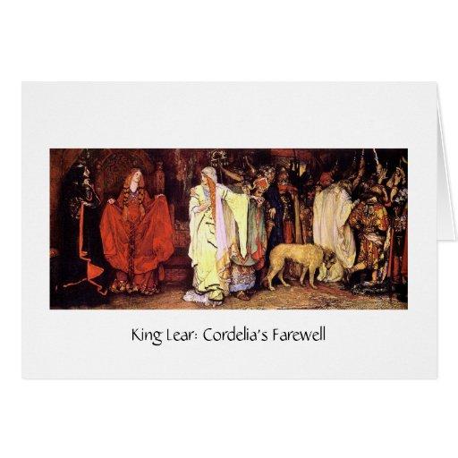 Cordelia's Farewell Greeting Card