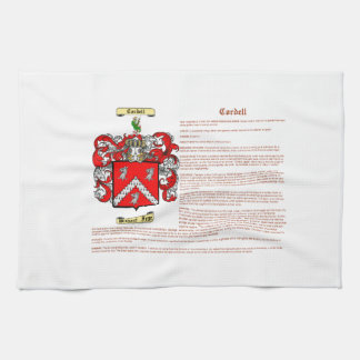 Cordell (meaning) tea towel