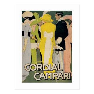 Cordial Campari 2 Postcard