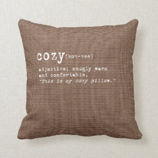 Cordial Collection - Cozy Cushion
