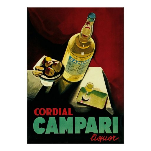 Cordial Liqour ~ Vintage Alcohol Advertising. Posters