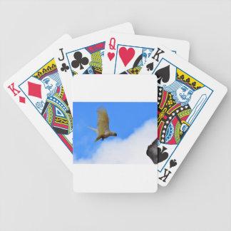 CORELLA BIRD QUEENSLAND AUSTRALIA BICYCLE PLAYING CARDS