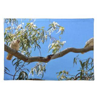 CORELLA BIRD QUEENSLAND AUSTRALIA PLACEMAT