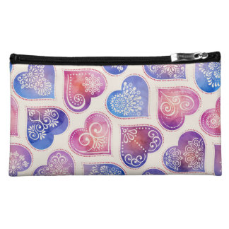 Corella Sueded Cosmetic Bag