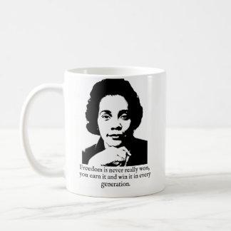 Coretta Scott King mug