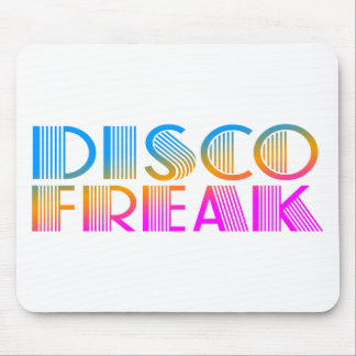 COREY TIGER 1980s RETRO DISCO FREAK MULTICOLOR Mouse Pad