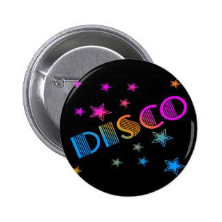 COREY TIGER 1980s RETRO DISCO STARS Pinback Button