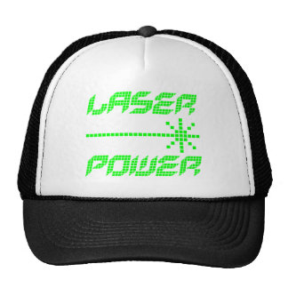 COREY TIGER 1980s RETRO LASER POWER Hats