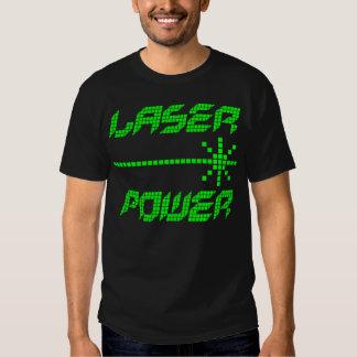 COREY TIGER 1980s RETRO LASER POWER Tshirts