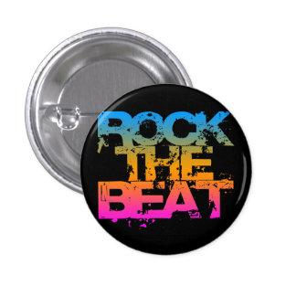 Corey Tiger 1980S Retro Rock The Beat 3 Cm Round Badge