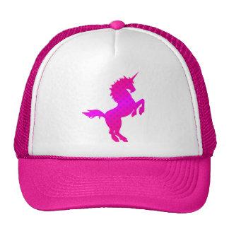 COREY TIGER 1980s RETRO VINTAGE UNICORN STARS PINK Hat