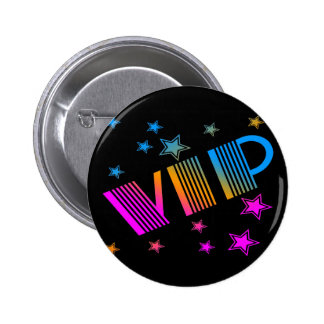 COREY TIGER 1980s RETRO VIP STARS 6 Cm Round Badge