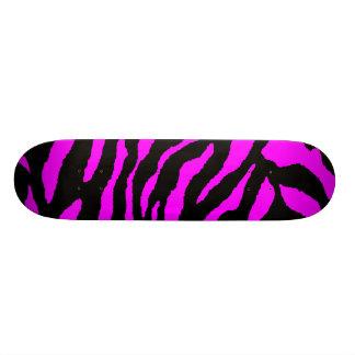 COREY TIGER 1980's TIGER STRIPE BOLD PINK BLACK 21.6 Cm Old School Skateboard Deck