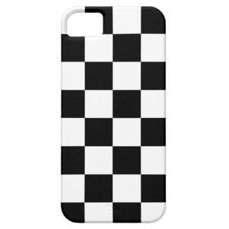 Corey Tiger 80s Neon Checkerboard (Black / White) iPhone 5 Cases