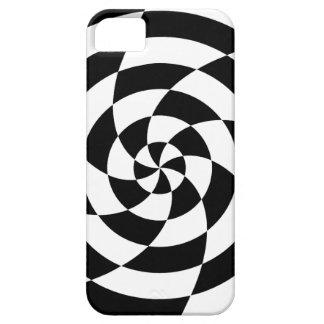 Corey Tiger 80s Neon Op Art (Black / White) iPhone 5 Case