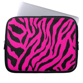 Corey Tiger 80s Neon Tiger Print Laptop Computer Sleeves