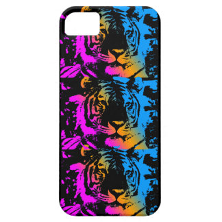 Corey Tiger 80s Neon Tigers iPhone 5 Case