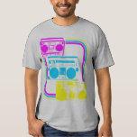 Corey Tiger 80s Retro Boombox Radio Shirt