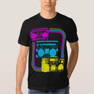 Corey Tiger 80s Retro Boombox Radio Tshirt