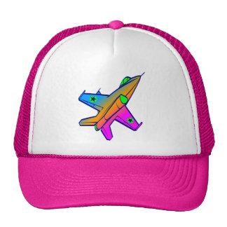 Corey Tiger 80s Retro Jet Fighter Plane Hats