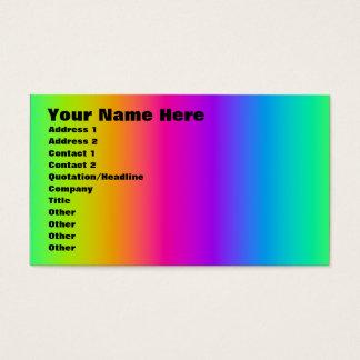 Corey Tiger 80s Retro Rainbow Blend