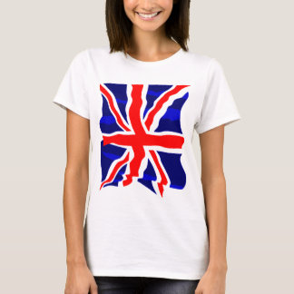Corey Tiger 80s Retro UK British Flag T-Shirt