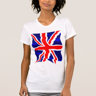Corey Tiger 80s Retro UK British Flag T Shirts