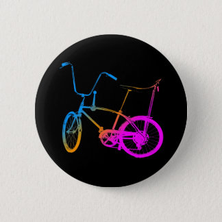 Corey Tiger 80's Retro Vintage Bicycle 6 Cm Round Badge