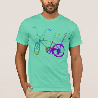 Corey Tiger 80's Retro Vintage Bicycle T-Shirt