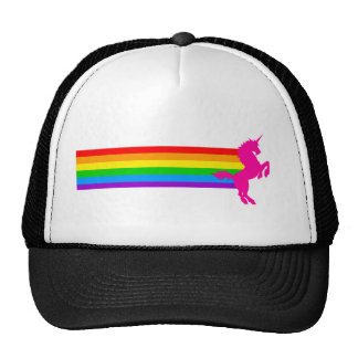 Corey Tiger 80s Retro Vintage Rainbow Unicorn Cap