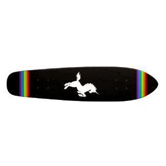 COREY TIGER 80s RETRO VINTAGE UNICORN RAINBOW BLAK Skate Deck
