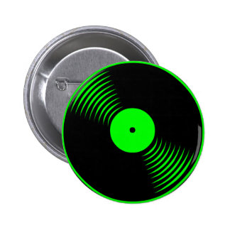 Corey Tiger 80s Retro Vintage Vinyl Record Pin