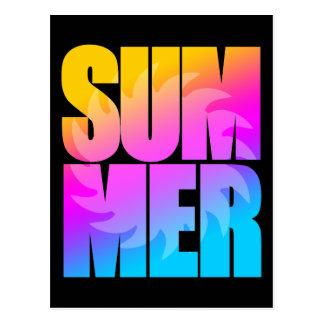 Corey Tiger 80s Summer Sun Postcard