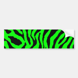 Corey Tiger 80s Tiger Stripes Bumper Sticker