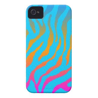 Corey Tiger 80s Tiger Stripes Pattern iPhone 4 Case