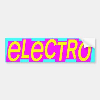 Corey Tiger 80s Vintage Electro Bumper Stickers