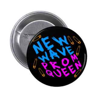 Corey Tiger 80s Vintage New Wave Prom Queen Buttons